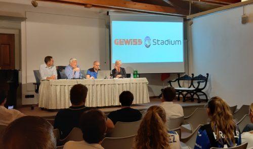 Clusone: Spagnolo presenta l'avanzamento dei lavori del Gewiss Stadium