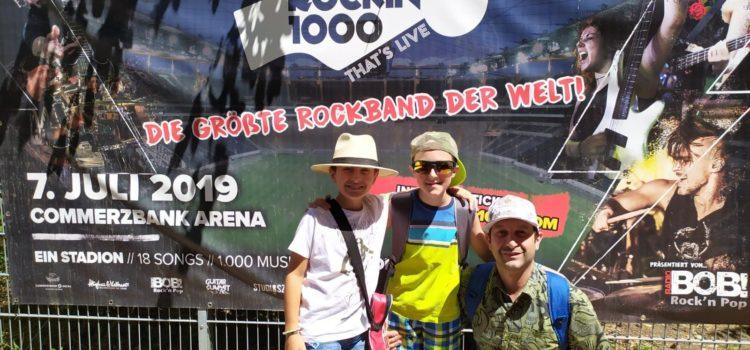 Da Leffe al Rockin'1000, Ramon e Daniele musicisti con la più grande rock band del mondo