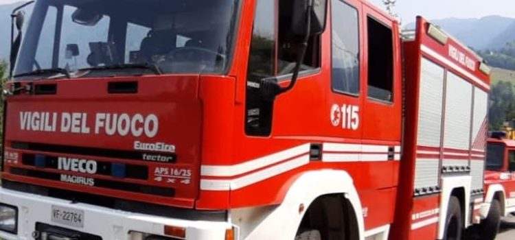 Incidente stradale a Piario