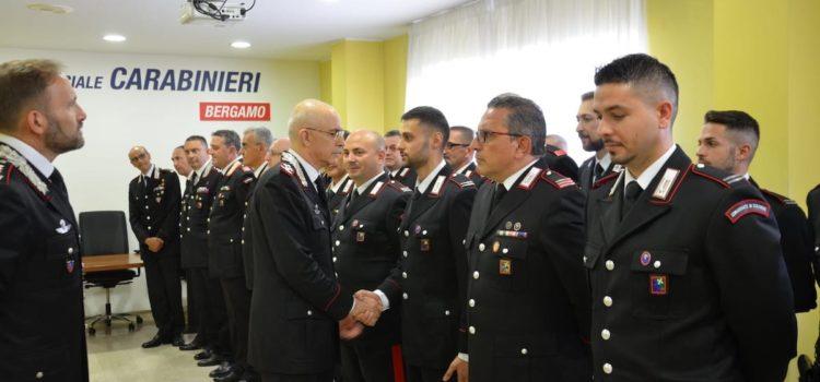 Il Comandante Generale dell'Arma dei Carabinieri in visita a Bergamo