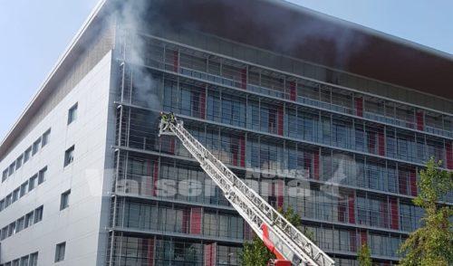 Incendio al Papa Giovanni: insediata la commissione Ats su mandato di Regione Lombardia