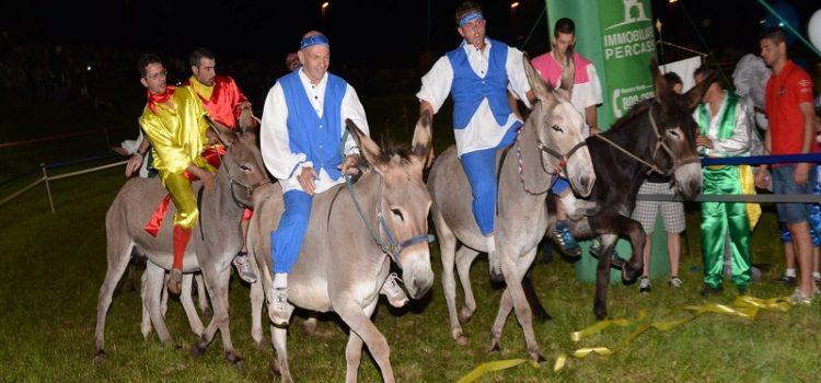 San Lorenzo: questa sera il 45esimo Palio degli asini