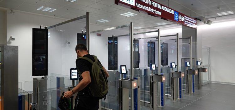 All'Aeroporto di Orio entrati in funzione i primi 6 e-gates