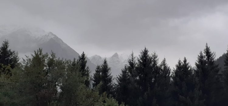 Temperature in picchiata, neve sulle Orobie oltre i 2300 metri