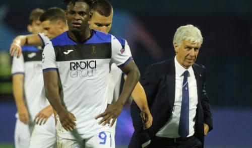 Champions League: debutto amaro dell'Atalanta contro la Dinamo Zagabria