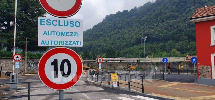 Stazione di Gazzaniga più sicura