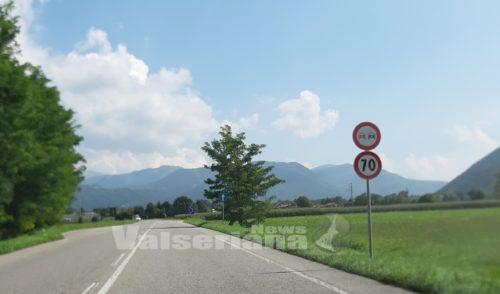 Riordino dei limiti di velocità lungo la strada provinciale della Val Seriana