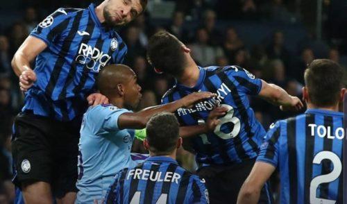 Atalanta travolta dal Manchester City