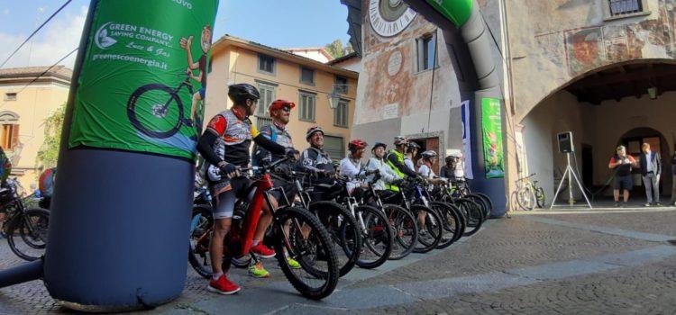 Successo per il primo raduno di e-bike in alta Val Seriana