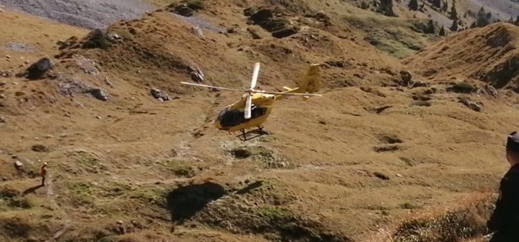 Escursionista in difficoltà sul monte Blum a  Rovetta, interviene l'elisoccorso