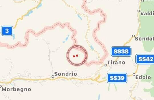 Terremoto in Valtellina, percepito anche in Val Seriana