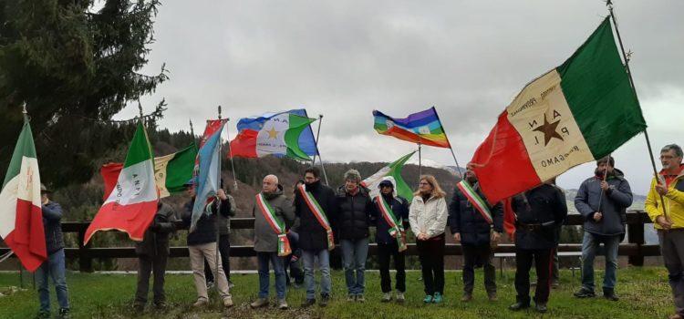 75 anni di libertà, alla Malga Lunga il ricordo dei partigiani – foto