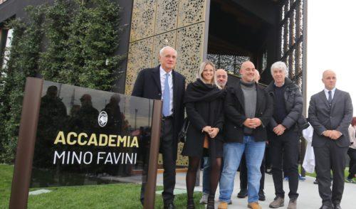 Atalanta: inaugurata l'Accademia Mino Favini