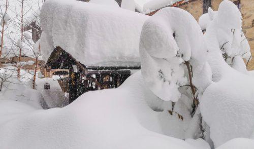 Neve abbondante sopra i 1700 metri, a Livigno oltre un metro
