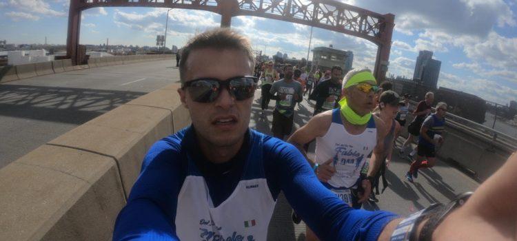 """Padre e figlio alla Maratona di New York: """"E' stata una corsa memorabile"""" – foto"""