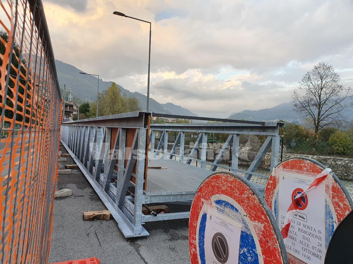 Fiorano al Serio, mercoledì si monta il nuovo ponte - Valseriana News