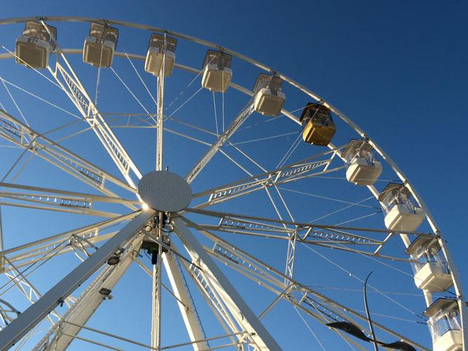 Bergamo, sabato apre la ruota panoramica - Valseriana News