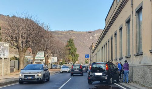 Incidente a Colzate, rallentamenti lungo la provinciale