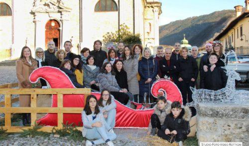 Natale a Gandino, festa in centro con i commercianti