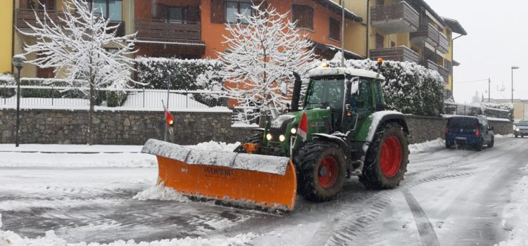 Neve e strade: le condizioni n Val Seriana