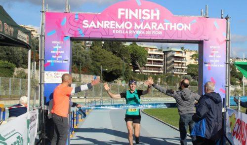 Marco Tiraboschi vince la Maratona di Sanremo