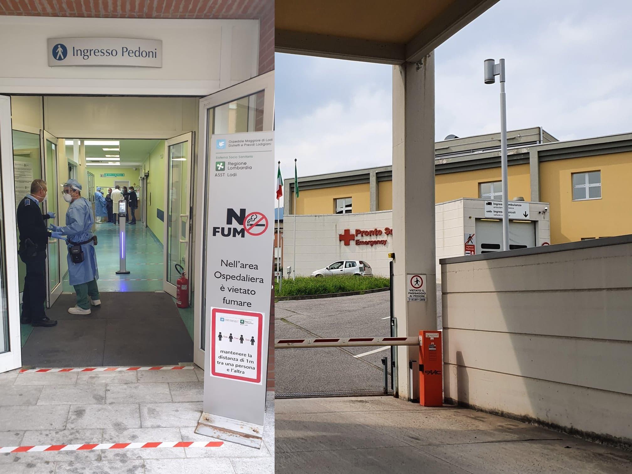 Dopo 3 mesi riapre il pronto soccorso di Codogno, ad Alzano chiuso poche ore